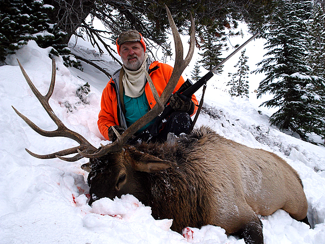 Montana hunting lodge