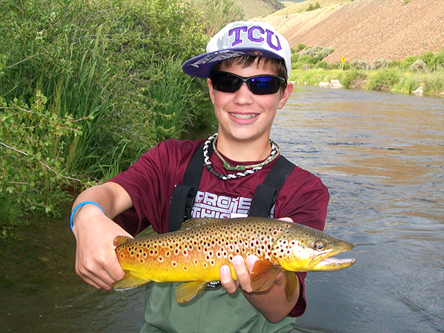 fly fishing vacation in Montana