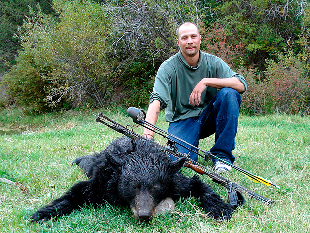guided black bear hunting in Montana
