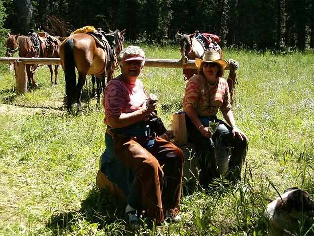 dude ranch in Montana