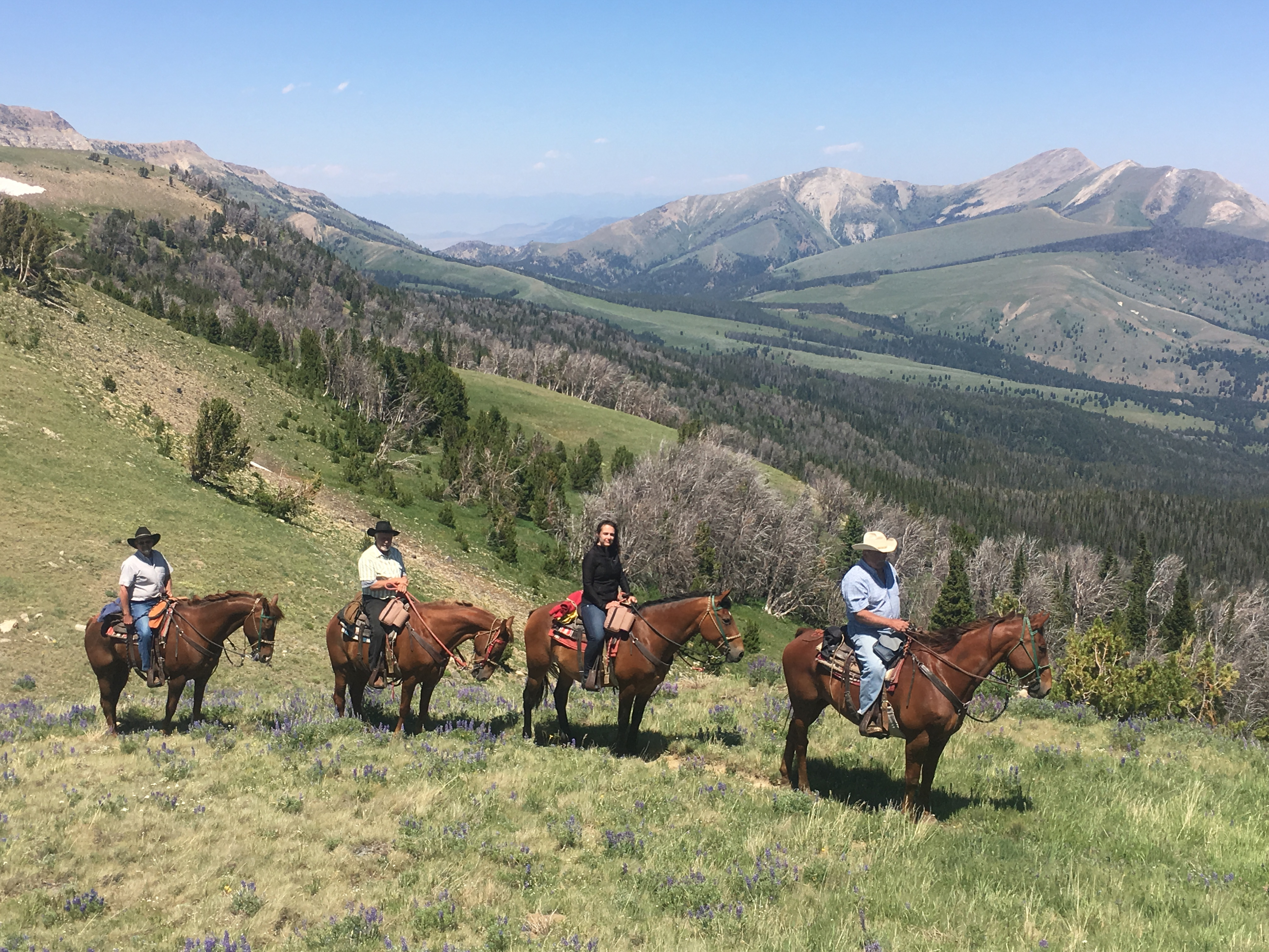 Montana Vacation at a Dude Ranch