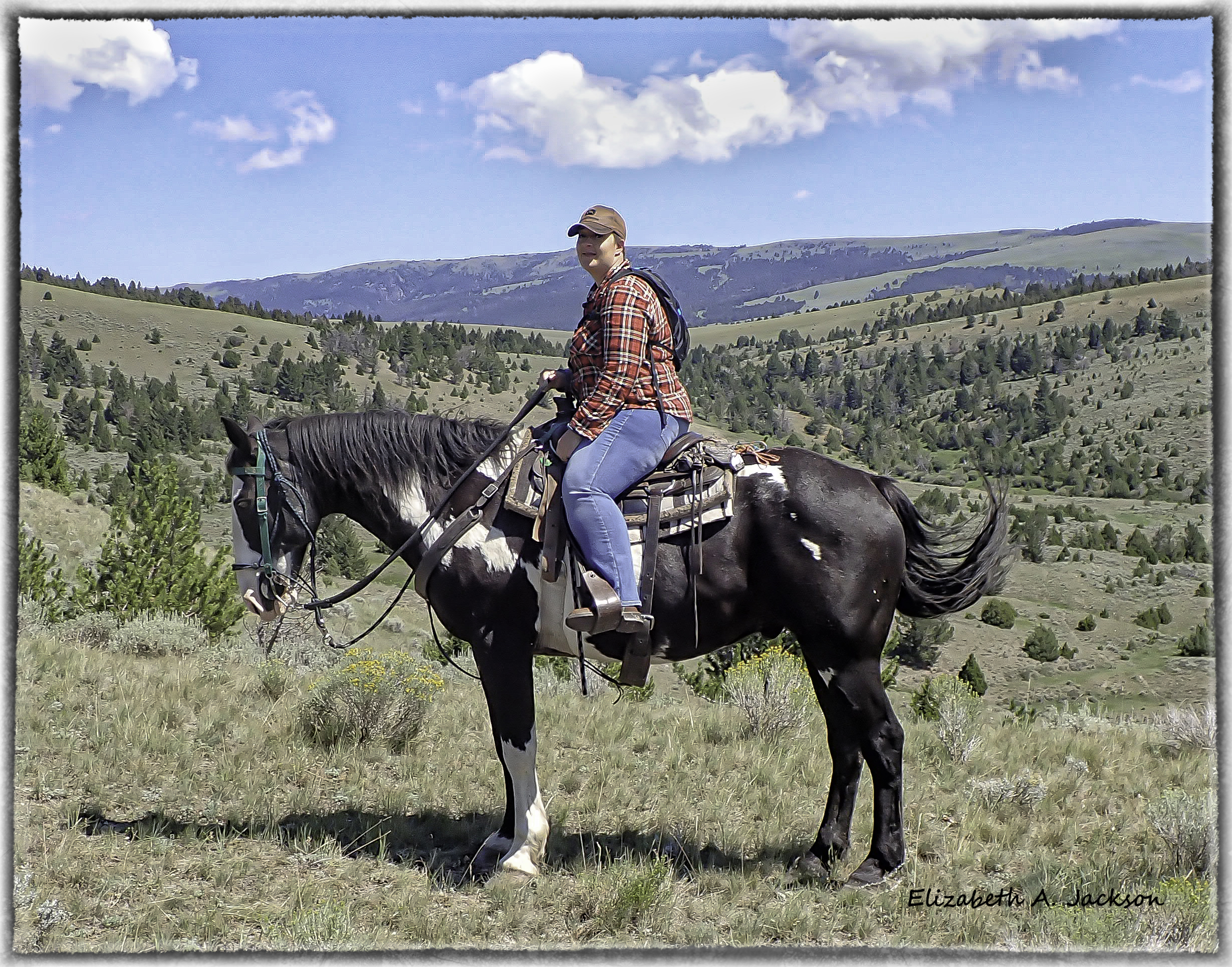 Horse back riding on your dude ranch vacation